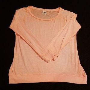 Pink vs Long Sleeve Tee Medium Nwot